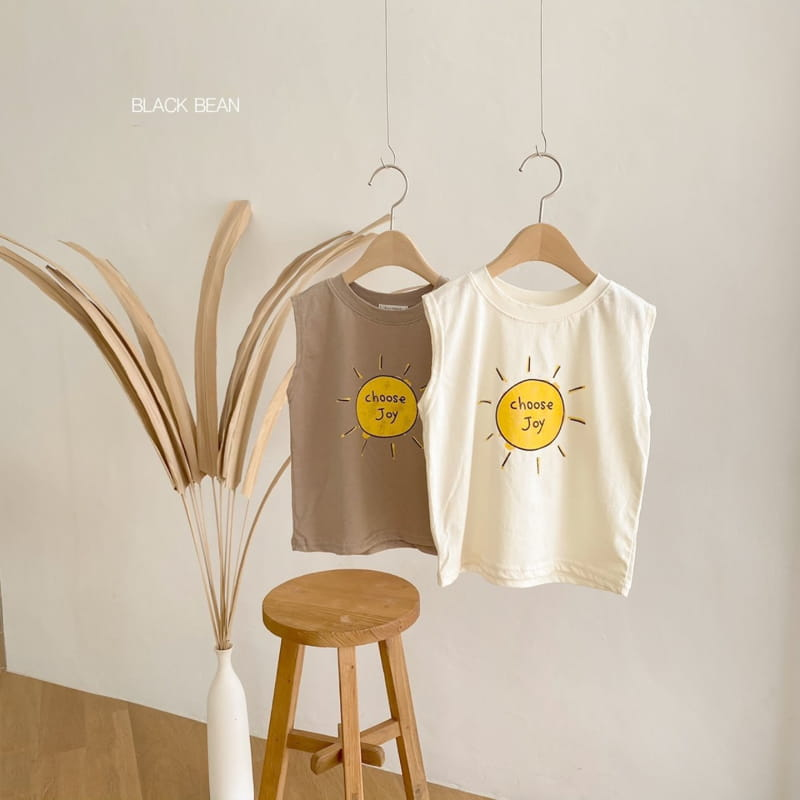 BLACK BEAN - Korean Children Fashion - #Kfashion4kids - Joy Sleeveless Tee - 8