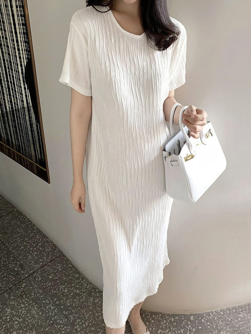 BLACKBANANA - Korean Children Fashion - #Kfashion4kids - Wave One-piece
