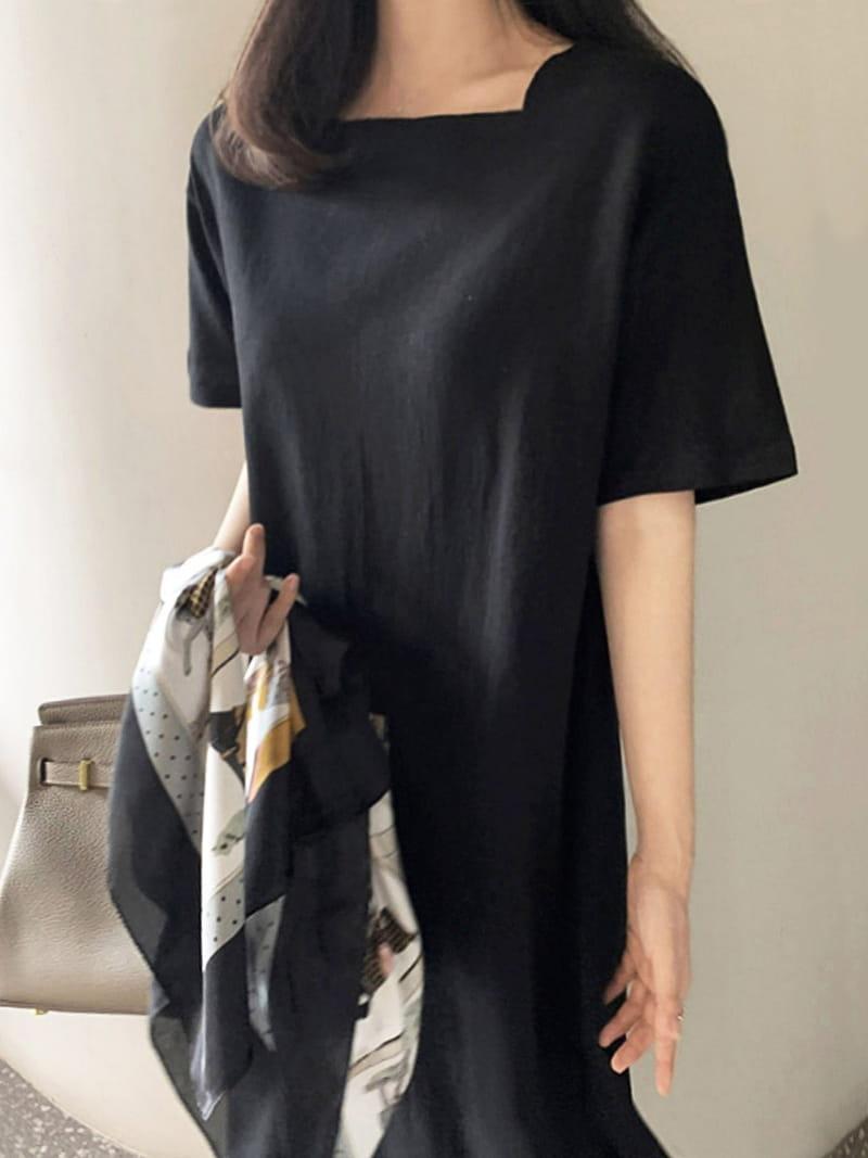 BLACKBANANA - Korean Children Fashion - #Kfashion4kids - Lips Rack One-piece - 3