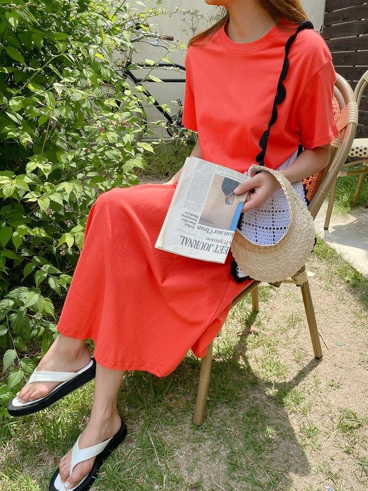BLACKBANANA - Korean Children Fashion - #Kfashion4kids - A-line One-piece - 4