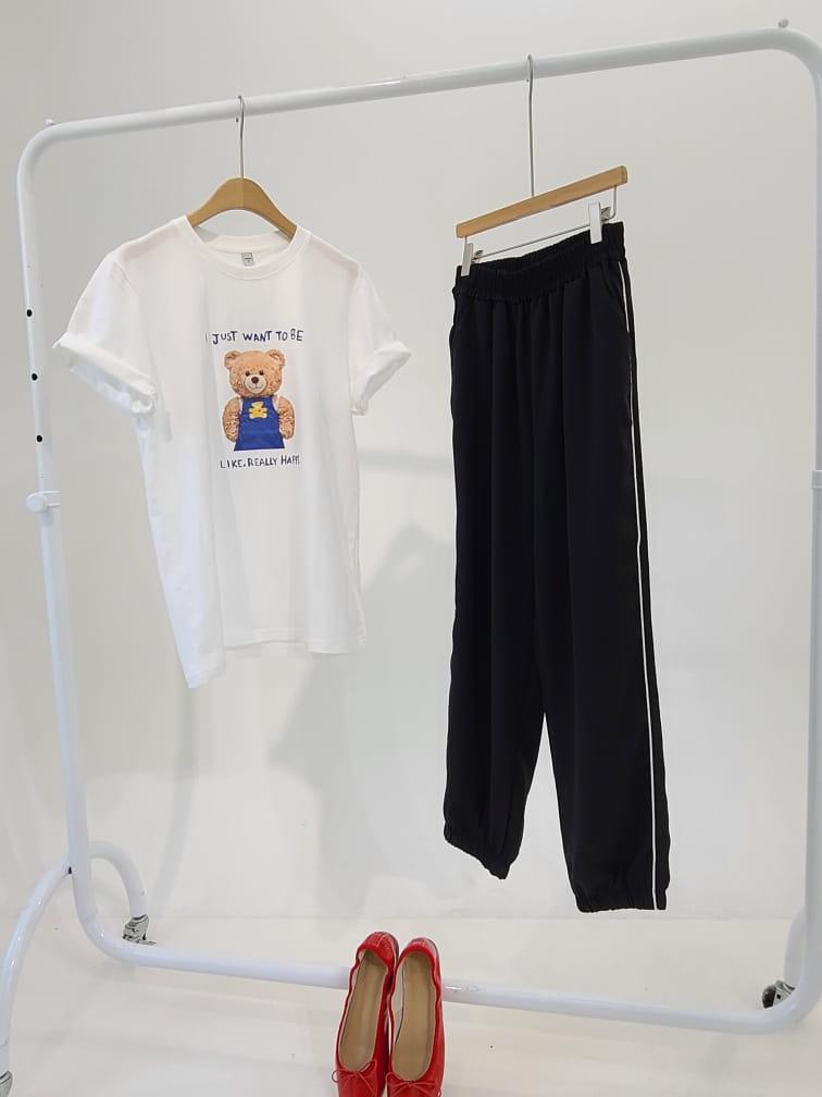 BLEND - Korean Children Fashion - #Kfashion4kids - Ping Stripes Jogger Pants - 3