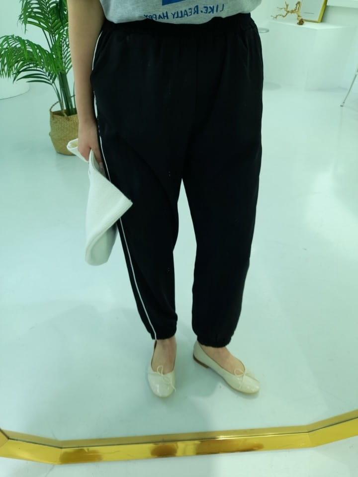 BLEND - Korean Children Fashion - #Kfashion4kids - Ping Stripes Jogger Pants - 4