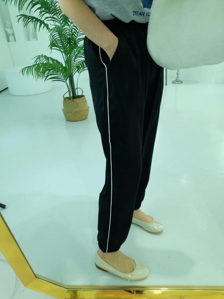 BLEND - Korean Children Fashion - #Kfashion4kids - Ping Stripes Jogger Pants - 5