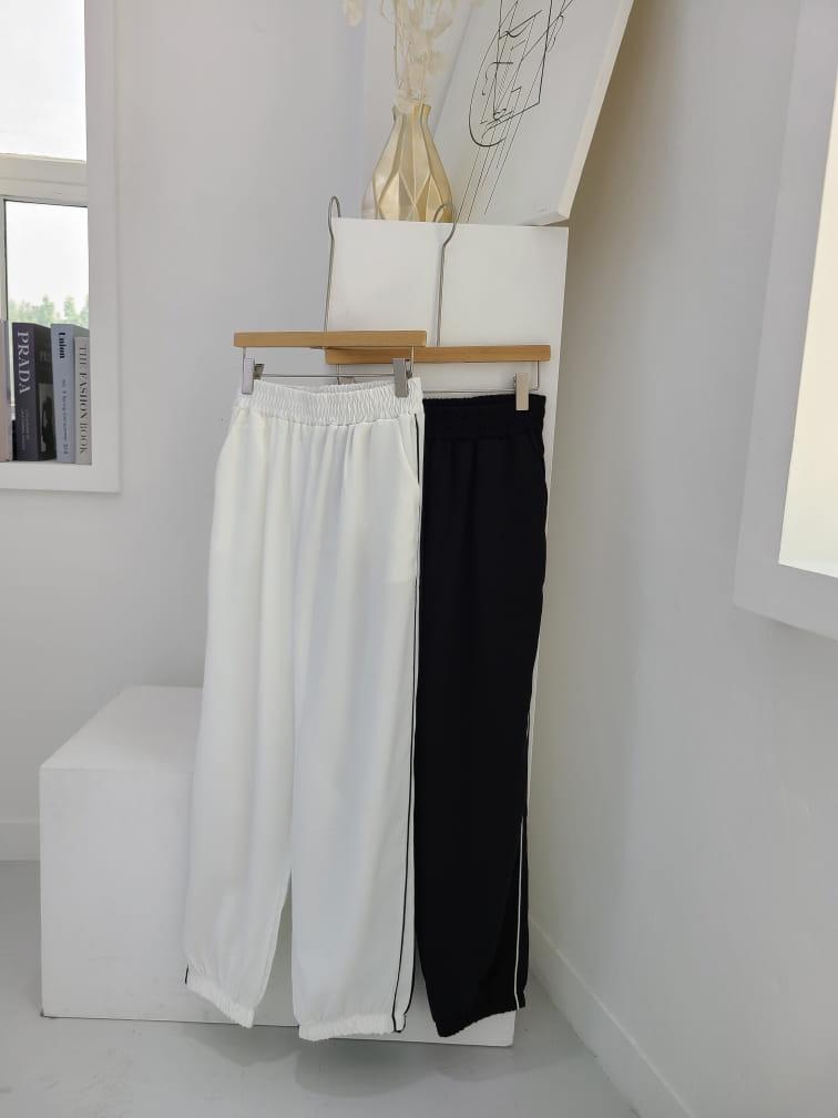 BLEND - BRAND - Korean Children Fashion - #Kfashion4kids - Ping Stripes Jogger Pants