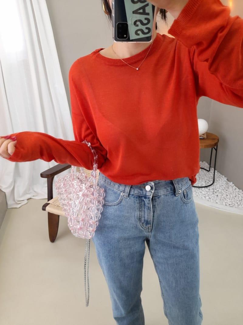 BLEND - Korean Children Fashion - #Kfashion4kids - Day Linen Round Knit - 3