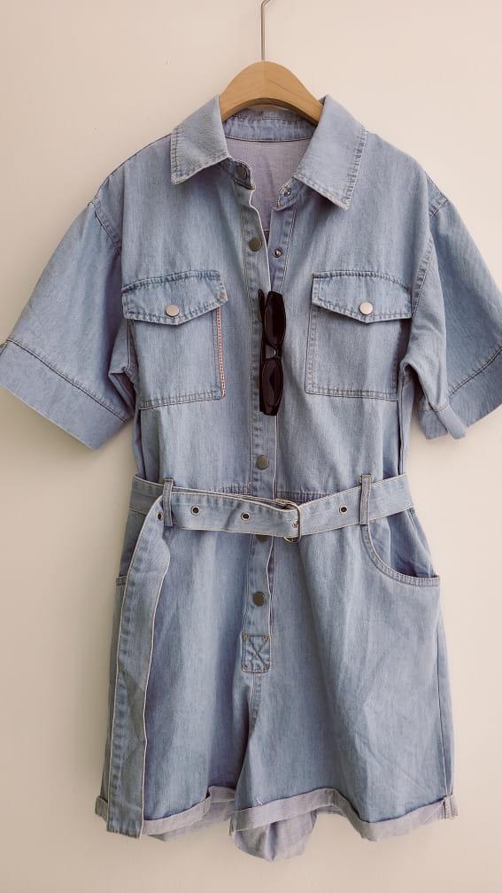 BLEND - Korean Children Fashion - #Kfashion4kids - Denim Jumpsuit - 5