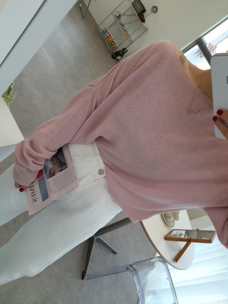 BLEND - Korean Children Fashion - #Kfashion4kids - Nude Knit