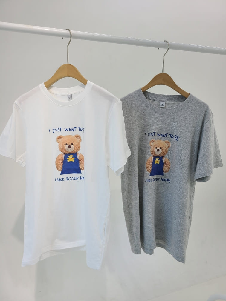 BLEND - BRAND - Korean Children Fashion - #Kfashion4kids - Teddy Bear Tee