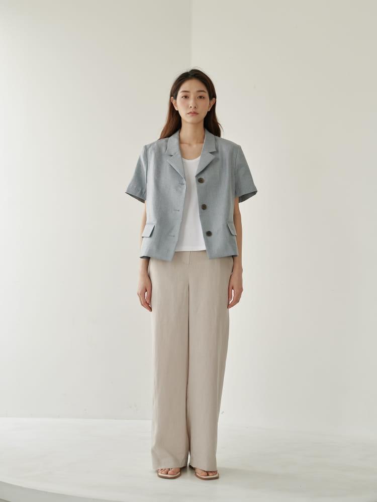 BRUNI - Korean Children Fashion - #Kfashion4kids - Lu Linen Pants - 2