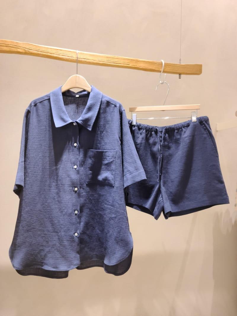 BRUNI - Korean Children Fashion - #Kfashion4kids - Acai Top Bottom Set - 4