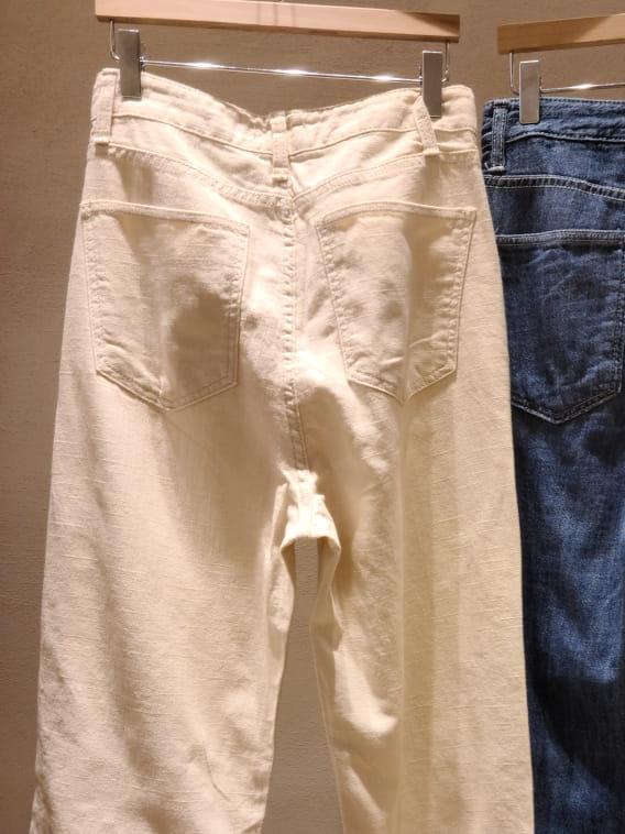 BRUNI - Korean Children Fashion - #Kfashion4kids - Linen Natural Jeans - 4