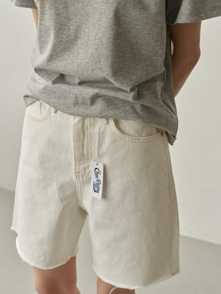 BRUNI - Korean Children Fashion - #Kfashion4kids - Half Corn Denim Shorts - 2