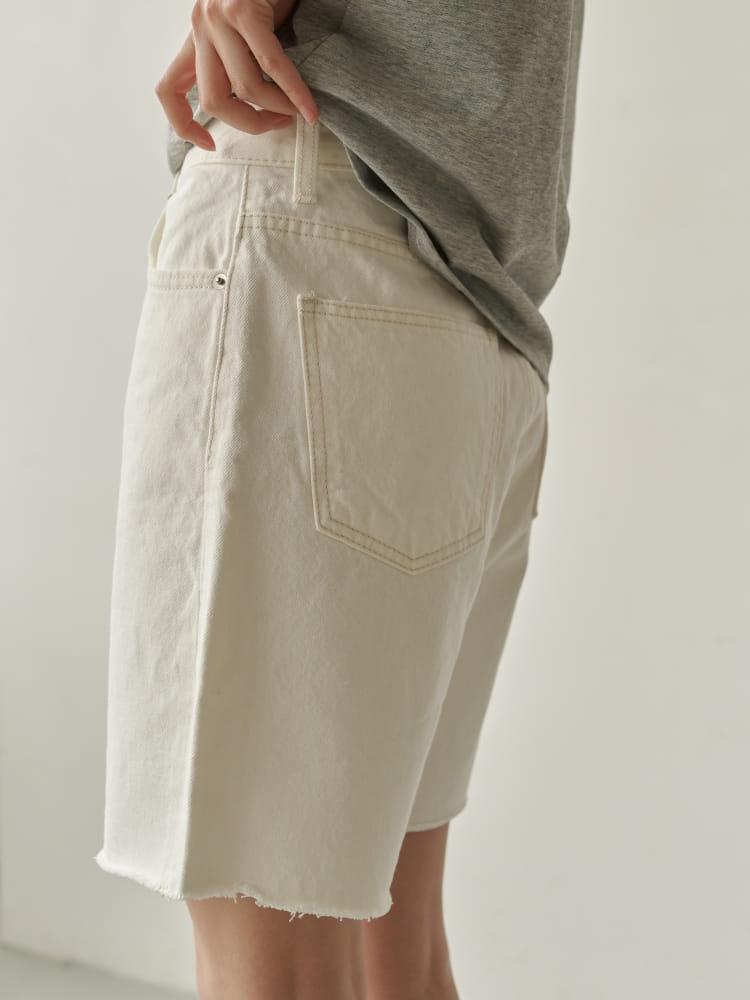 BRUNI - Korean Children Fashion - #Kfashion4kids - Half Corn Denim Shorts - 3