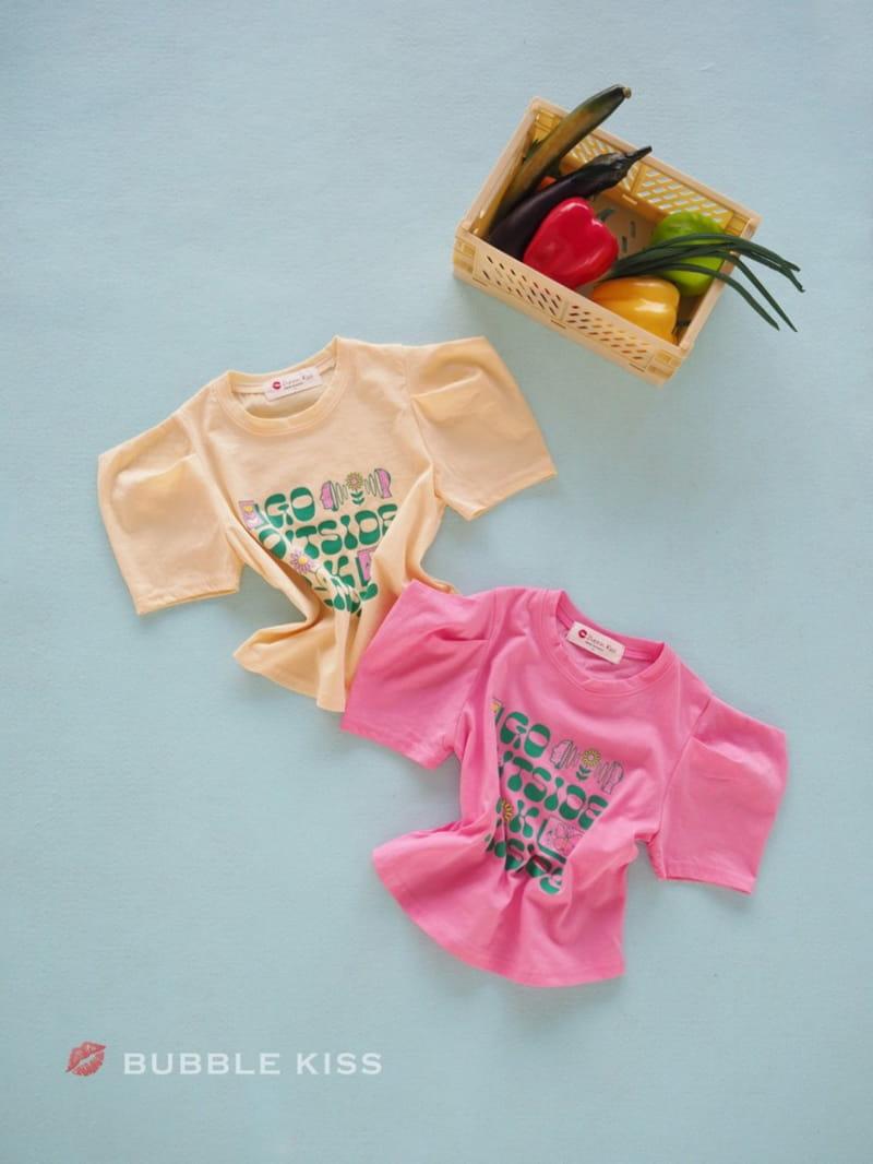 BUBBLE KISS - Korean Children Fashion - #Kfashion4kids - Garden Puff Tee
