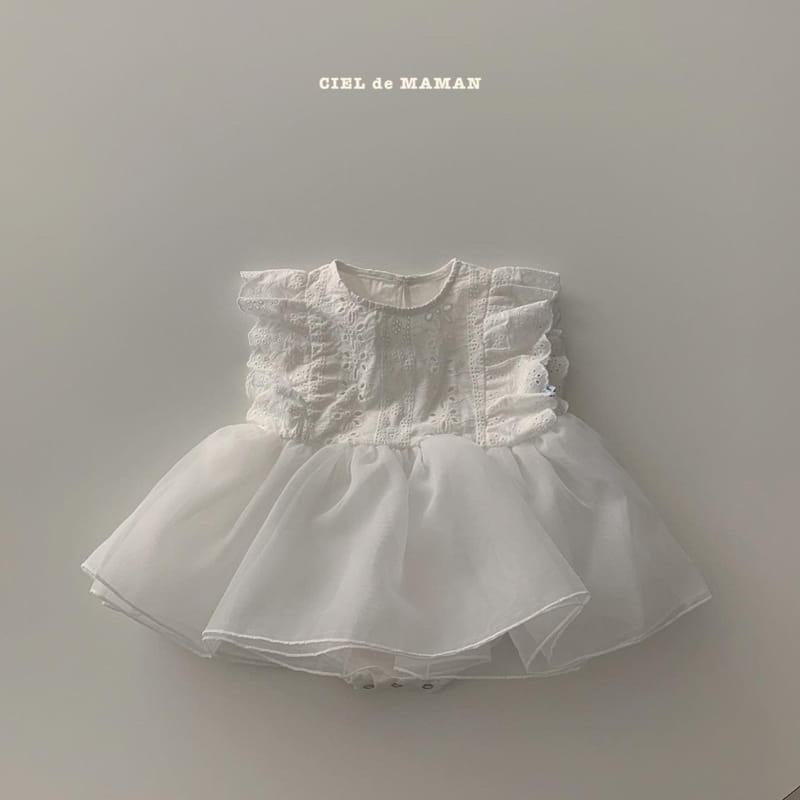 CIEL DE MAMAN - Korean Children Fashion - #Kfashion4kids - Pure Bodysuit - 3
