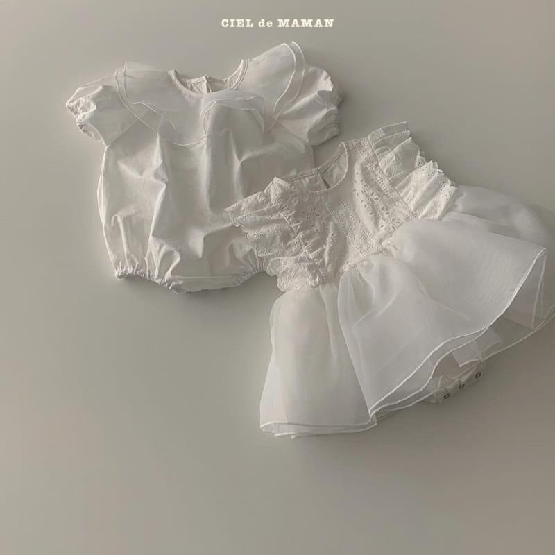 CIEL DE MAMAN - Korean Children Fashion - #Kfashion4kids - Pure Bodysuit - 9