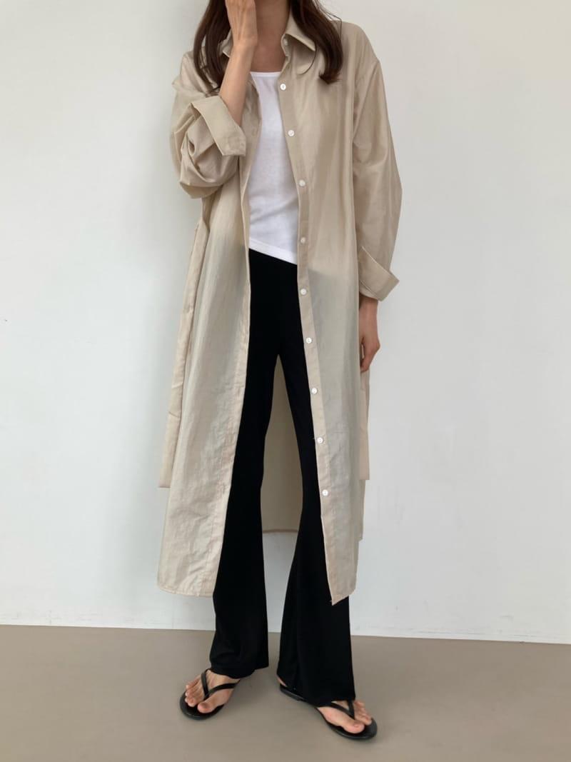 COCOJNISSI - Korean Children Fashion - #Kfashion4kids - Grow Wind Breaker Long Shirt - 4