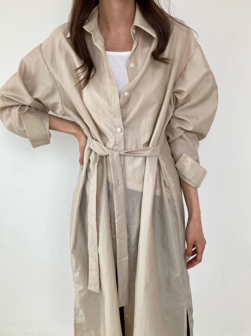 COCOJNISSI - BRAND - Korean Children Fashion - #Kfashion4kids - Grow Wind Breaker Long Shirt