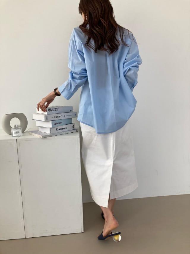 COCOJNISSI - Korean Children Fashion - #Kfashion4kids - Mashell Pocket Asa Cotton Shirt - 2