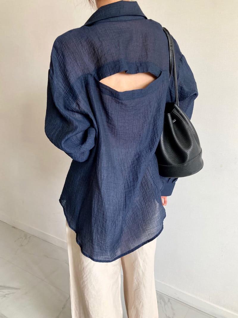COCOJNISSI - Korean Children Fashion - #Kfashion4kids - Blair Back Slit See Through shirt
