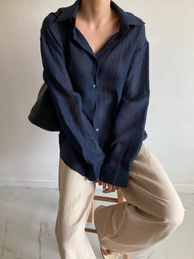 COCOJNISSI - Korean Children Fashion - #Kfashion4kids - Blair Back Slit See Through shirt - 2