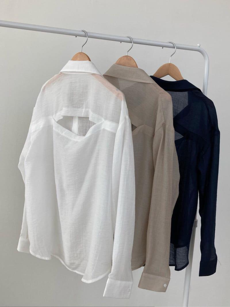 COCOJNISSI - Korean Children Fashion - #Kfashion4kids - Blair Back Slit See Through shirt - 3