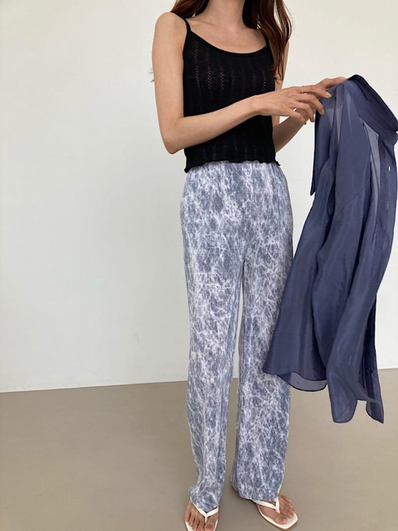 COCOJNISSI - Korean Children Fashion - #Kfashion4kids - Vintage Water paint Pants - 3