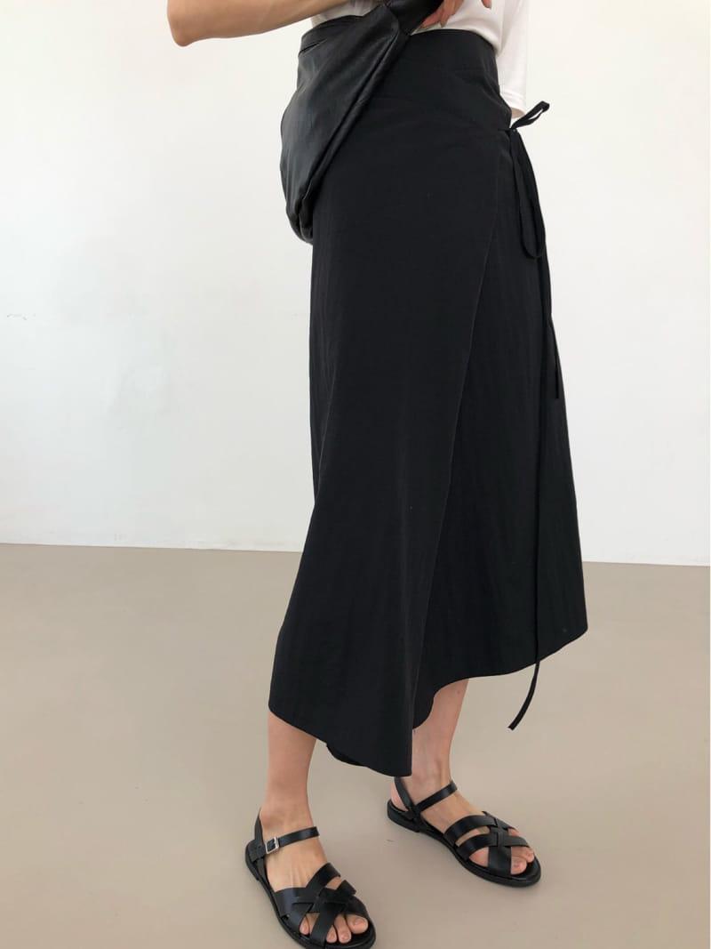 COCOJNISSI - Korean Children Fashion - #Kfashion4kids - Sendo Wrap Crunch Skirt - 2