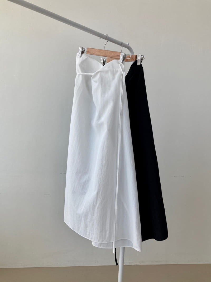 COCOJNISSI - Korean Children Fashion - #Kfashion4kids - Sendo Wrap Crunch Skirt - 3