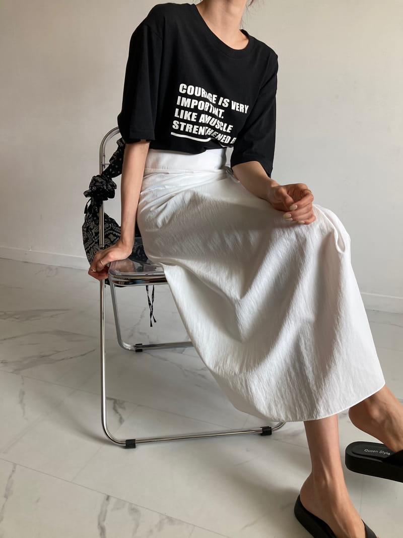 COCOJNISSI - BRAND - Korean Children Fashion - #Kfashion4kids - Sendo Wrap Crunch Skirt