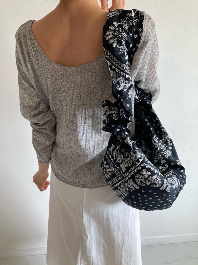 COCOJNISSI - Korean Children Fashion - #Kfashion4kids - Scsi Linen Knit Tee - 4