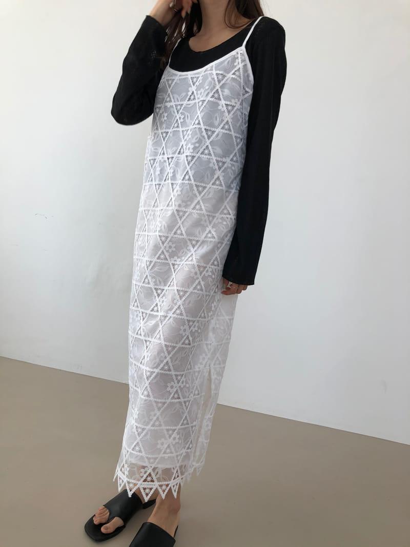 COCOJNISSI - Korean Children Fashion - #Kfashion4kids - Elia Lace One-piece - 2