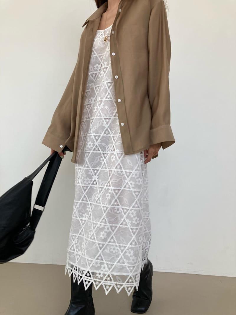 COCOJNISSI - Korean Children Fashion - #Kfashion4kids - Elia Lace One-piece - 3