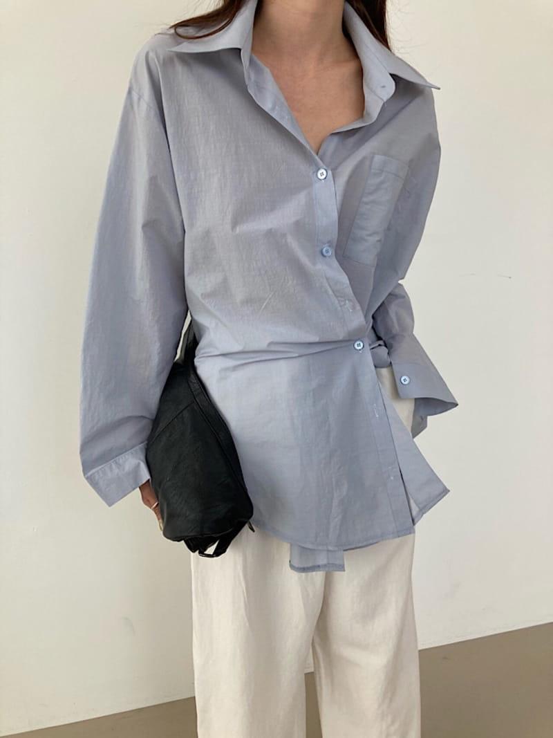 COCOJNISSI - Korean Children Fashion - #Kfashion4kids - Twelve Crunch Two Ways Shirt