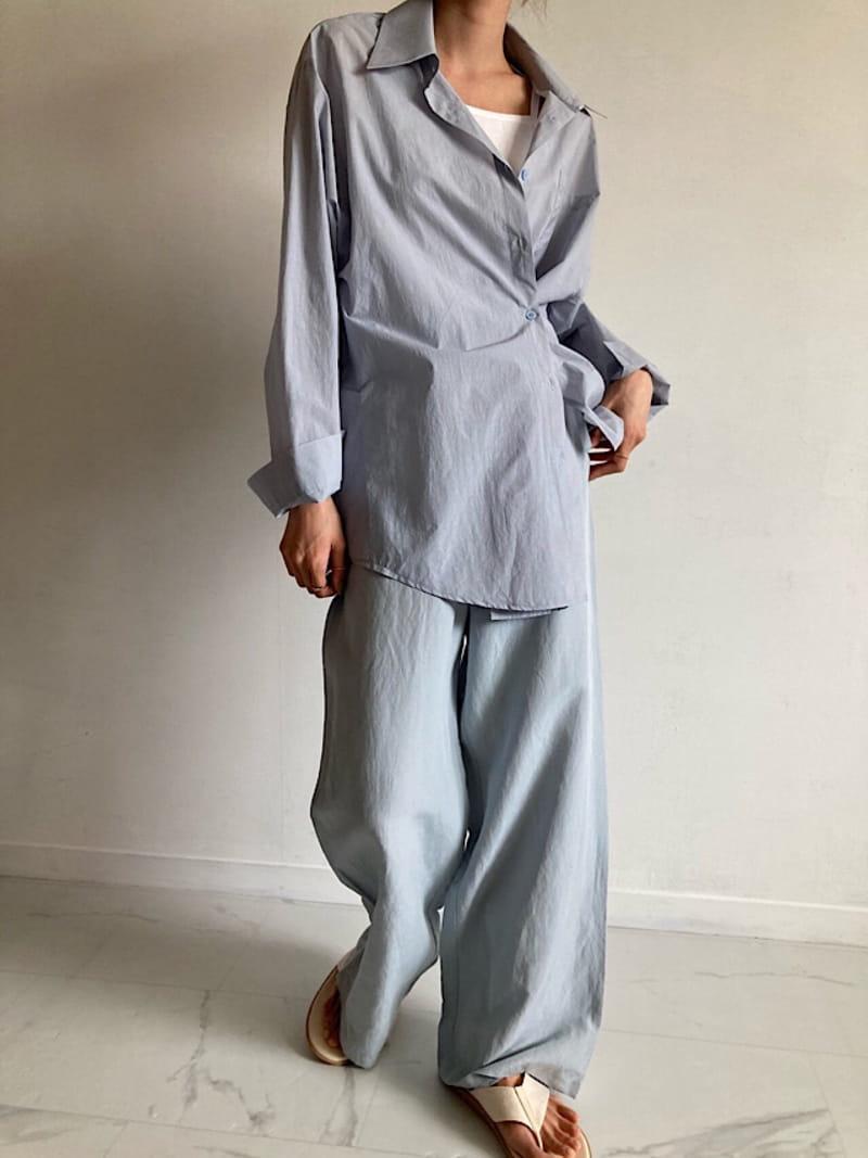 COCOJNISSI - Korean Children Fashion - #Kfashion4kids - Twelve Crunch Two Ways Shirt - 2
