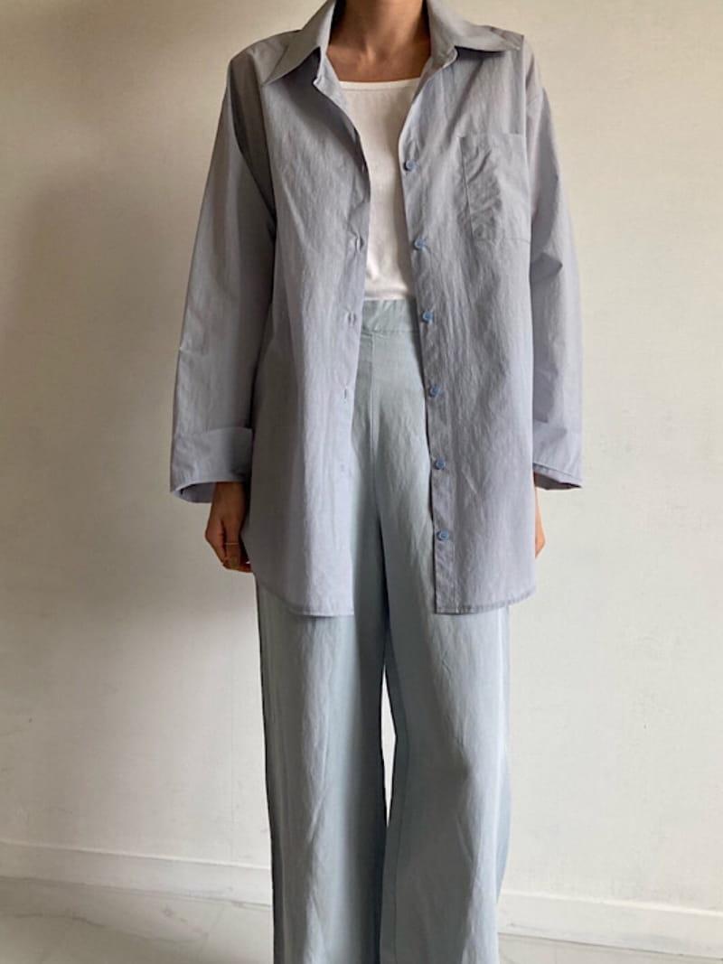 COCOJNISSI - Korean Children Fashion - #Kfashion4kids - Twelve Crunch Two Ways Shirt - 3
