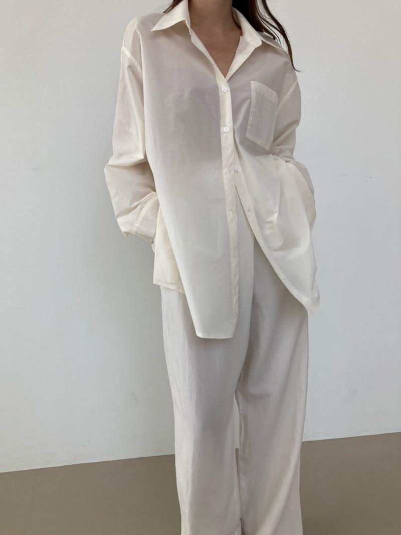 COCOJNISSI - BRAND - Korean Children Fashion - #Kfashion4kids - Twelve Crunch Two Ways Shirt