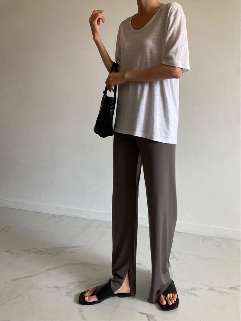COCOJNISSI - Korean Children Fashion - #Kfashion4kids - Slit Wide Cooling Pants - 2