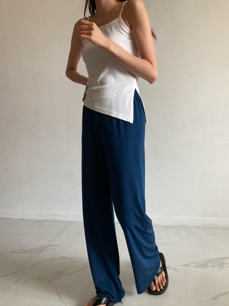 COCOJNISSI - Korean Children Fashion - #Kfashion4kids - Slit Wide Cooling Pants - 3