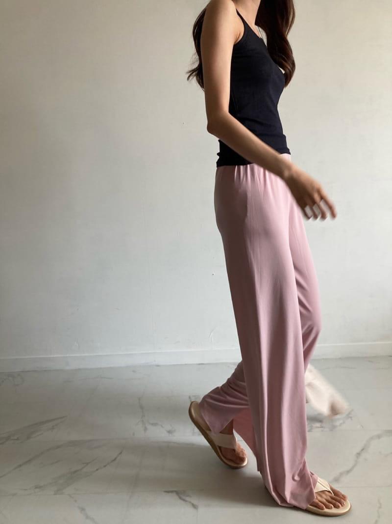 COCOJNISSI - BRAND - Korean Children Fashion - #Kfashion4kids - Slit Wide Cooling Pants