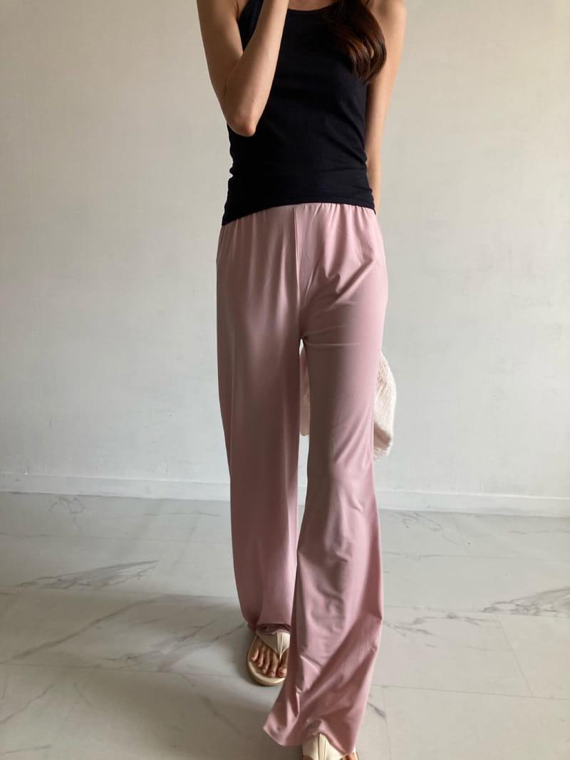 COCOJNISSI - Korean Children Fashion - #Kfashion4kids - Pumpkin Cooling Wide Slit Pants - 4