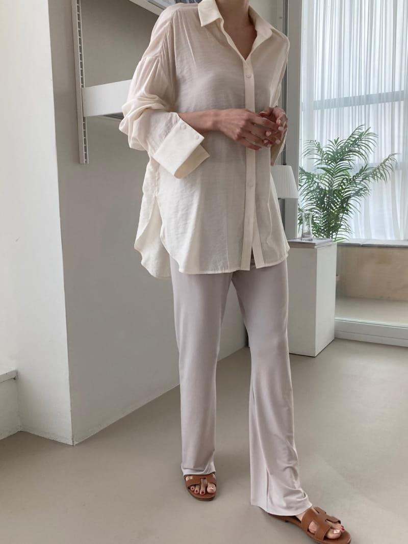 COCOJNISSI - Korean Children Fashion - #Kfashion4kids - Plex Bootscut Span Bending Slim Pants