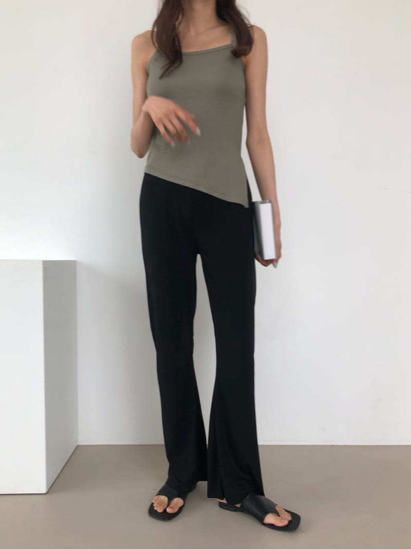 COCOJNISSI - Korean Children Fashion - #Kfashion4kids - Plex Bootscut Span Bending Slim Pants - 2