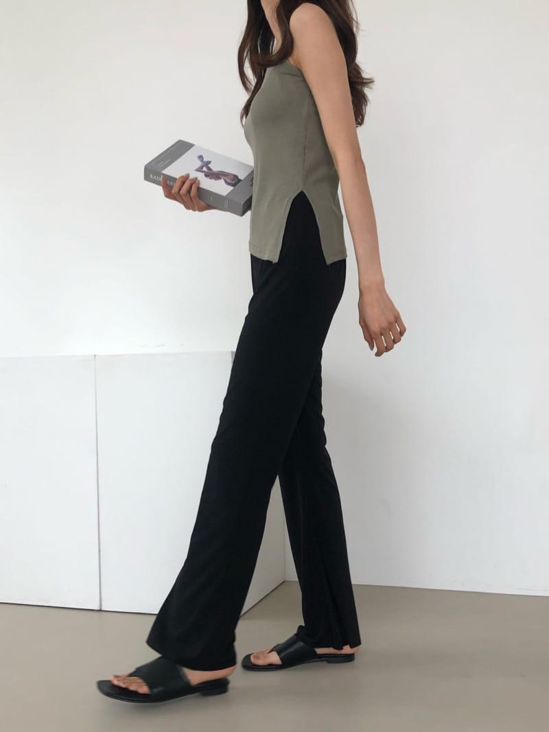 COCOJNISSI - Korean Children Fashion - #Kfashion4kids - Plex Bootscut Span Bending Slim Pants - 3