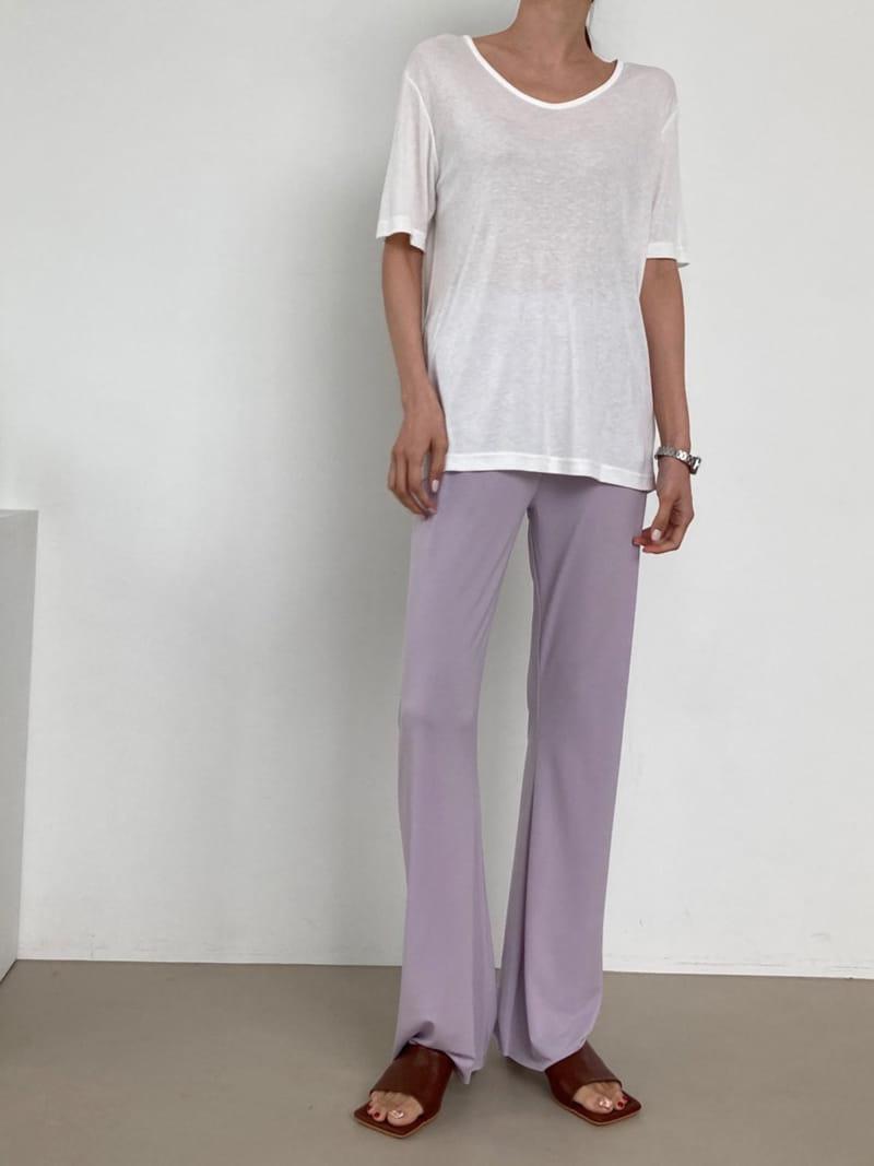 COCOJNISSI - Korean Children Fashion - #Kfashion4kids - Plex Bootscut Span Bending Slim Pants - 4