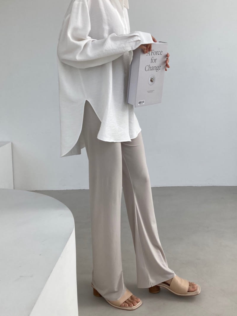 COCOJNISSI - BRAND - Korean Children Fashion - #Kfashion4kids - Plex Bootscut Span Bending Slim Pants