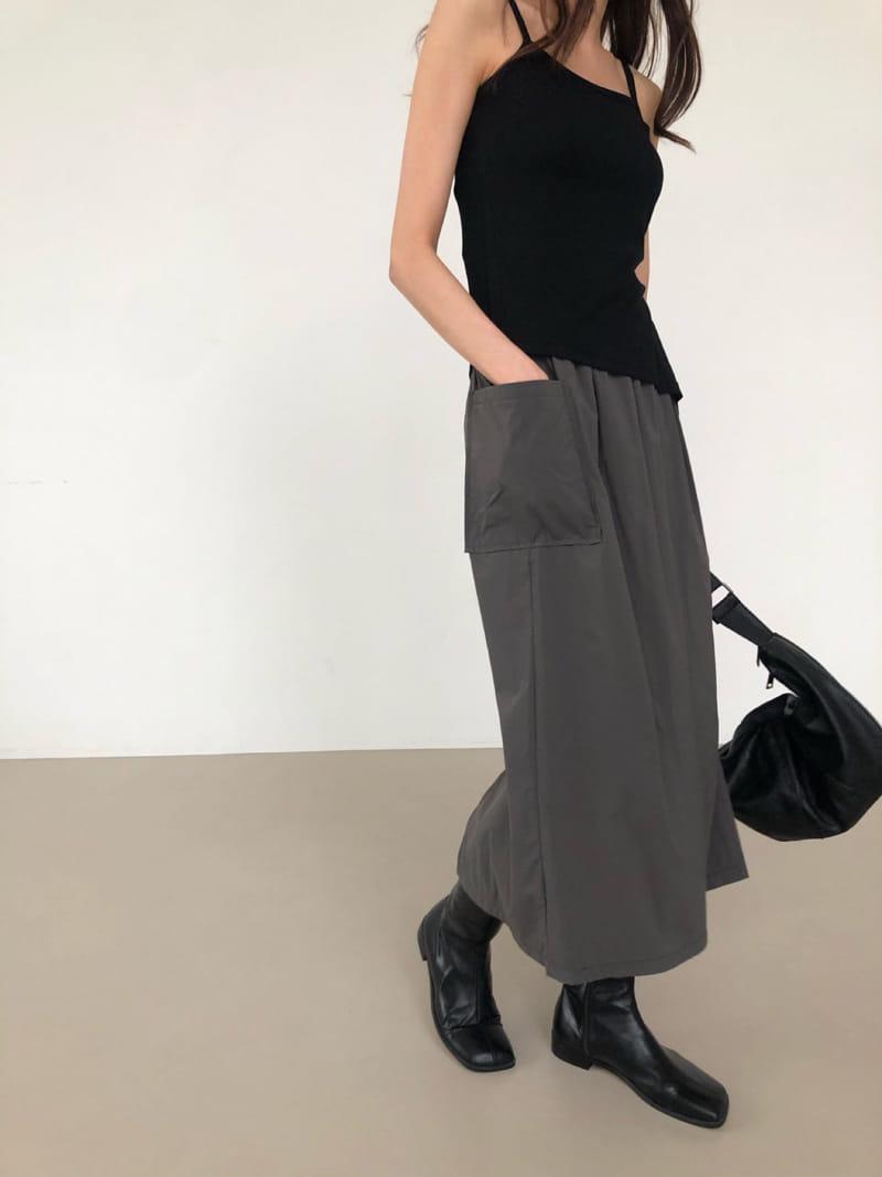 COCOJNISSI - Korean Children Fashion - #Kfashion4kids - Hiver Crunch Pocket Skirt - 2