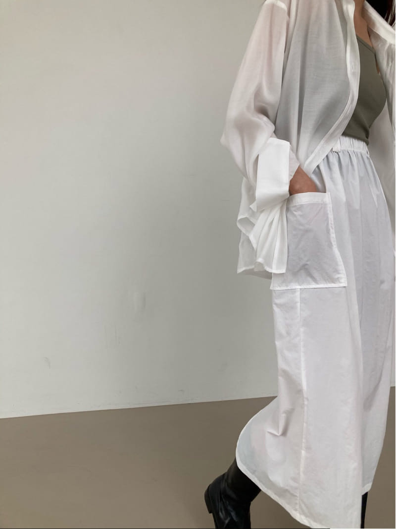 COCOJNISSI - Korean Children Fashion - #Kfashion4kids - Hiver Crunch Pocket Skirt - 4