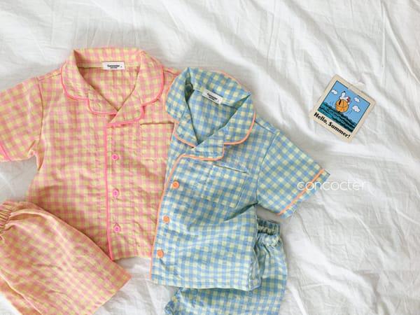 CONCOCTER - Korean Children Fashion - #Kfashion4kids - Honey Butter Pajamas - 2