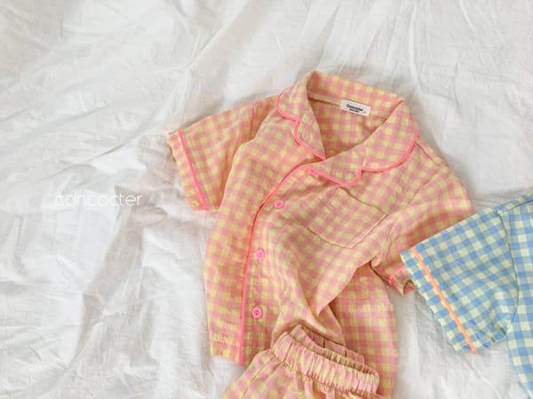 CONCOCTER - Korean Children Fashion - #Kfashion4kids - Honey Butter Pajamas - 6